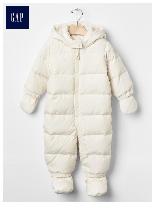46b9ee542 Baby Gap Warmest down snowsuit