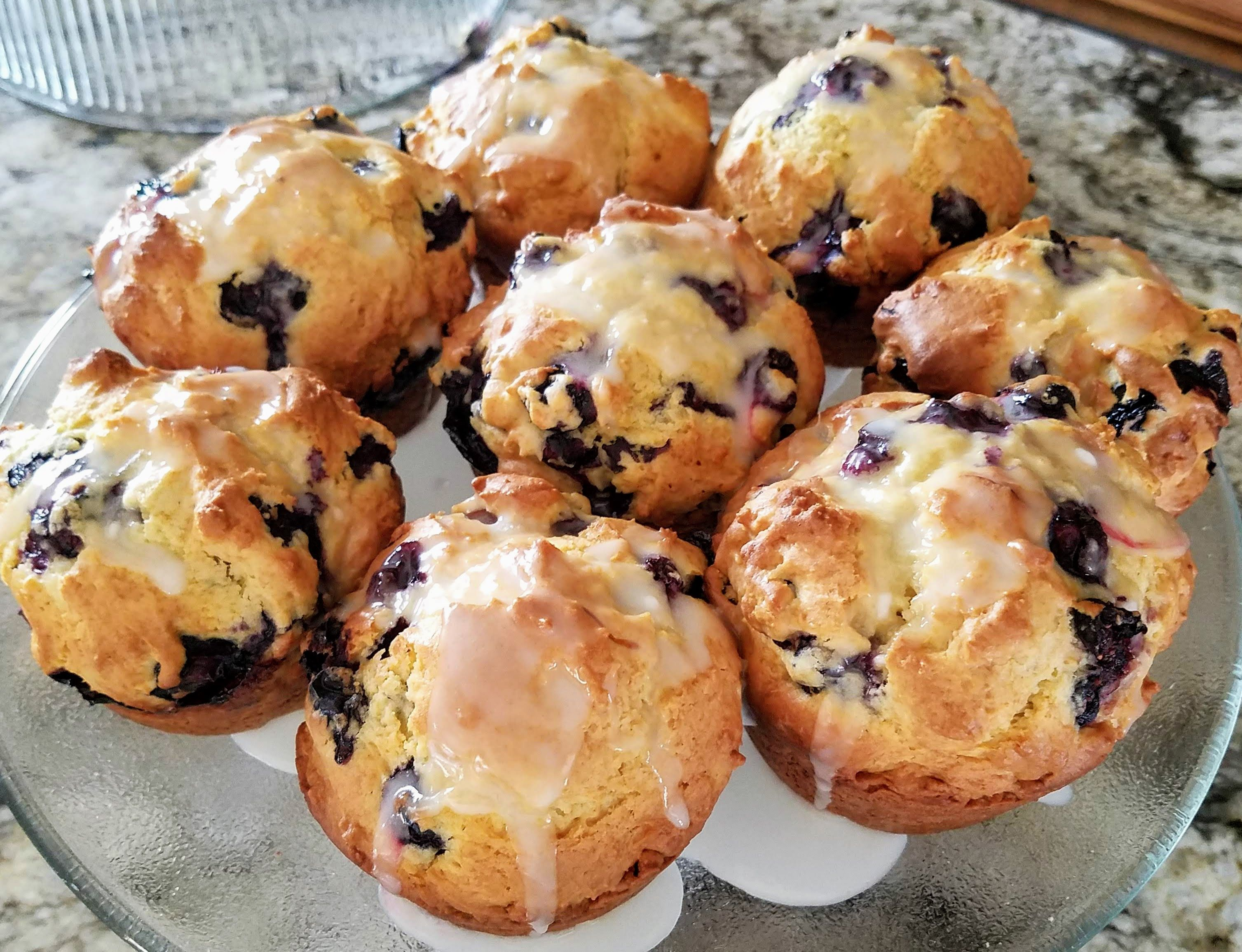 World S Best Lemon Blueberry Muffins Recipe In 2020 Lemon Blueberry Muffins Blue Berry Muffins Recipes