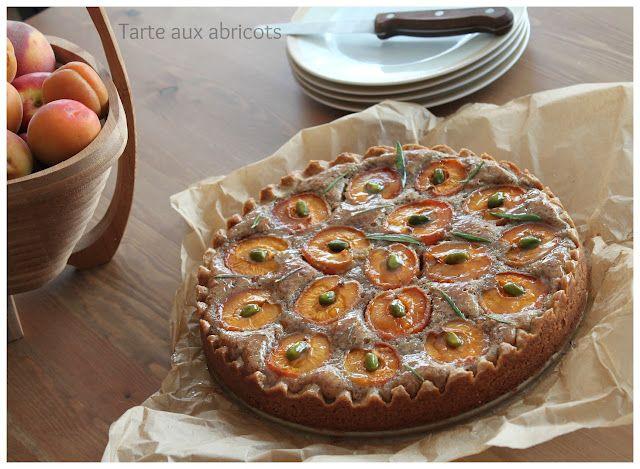 Délices d'Orient: Tarte abricots & romarin
