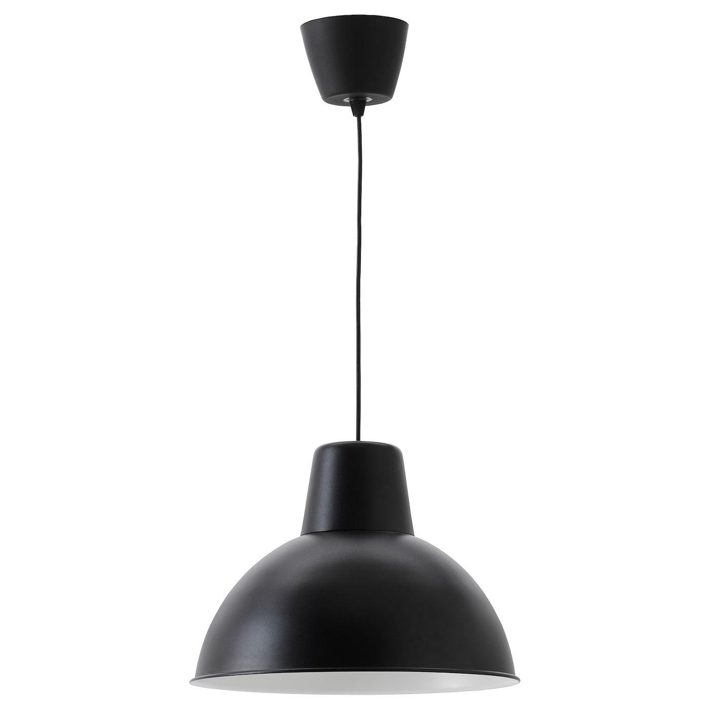 Skurup Suspension Noir 38 Cm Luminaire Ikea Lumiere De Lampe Et Lampe Suspension