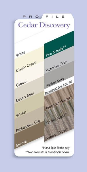 Vinyl Siding Colors Alcoa Siding Color Vinyl And Aluminum