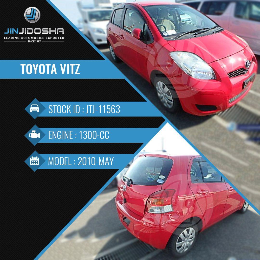 Toyota Vitz In Stock Now! Car Detailshttps//www