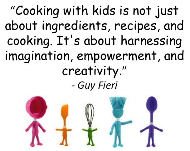 Cooking With Kids Quote Goodfoodmama In 2019 Cooking