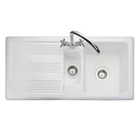 franke ceramic kitchen sinks uk franke rangemaster portland 1 5
