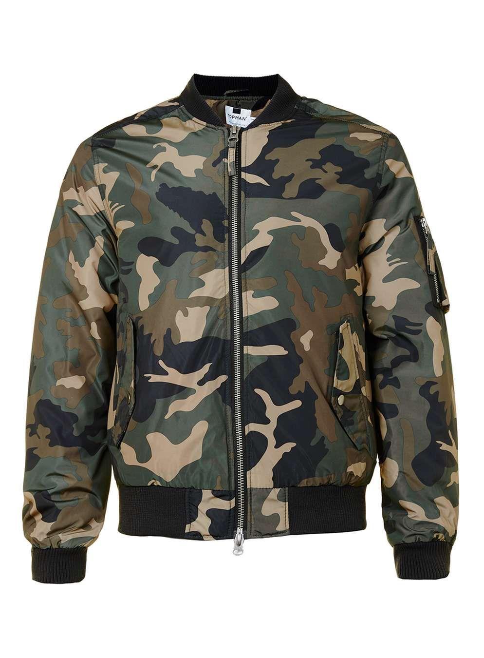 Green Camo Ma1 Bomber Jacket Camo Bomber Jacket Bomber Jacket Camouflage Print Jacket [ 1350 x 994 Pixel ]