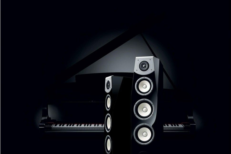 Awesome Speakers yamaha soavo speakers are part grand piano, part speaker, all