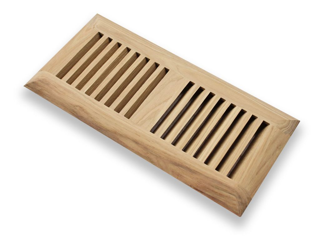 Grillworks Trimline In 6x14 6 X 14 Wood Floor Register Insert Model Maple Vent Covers Registers Slatted