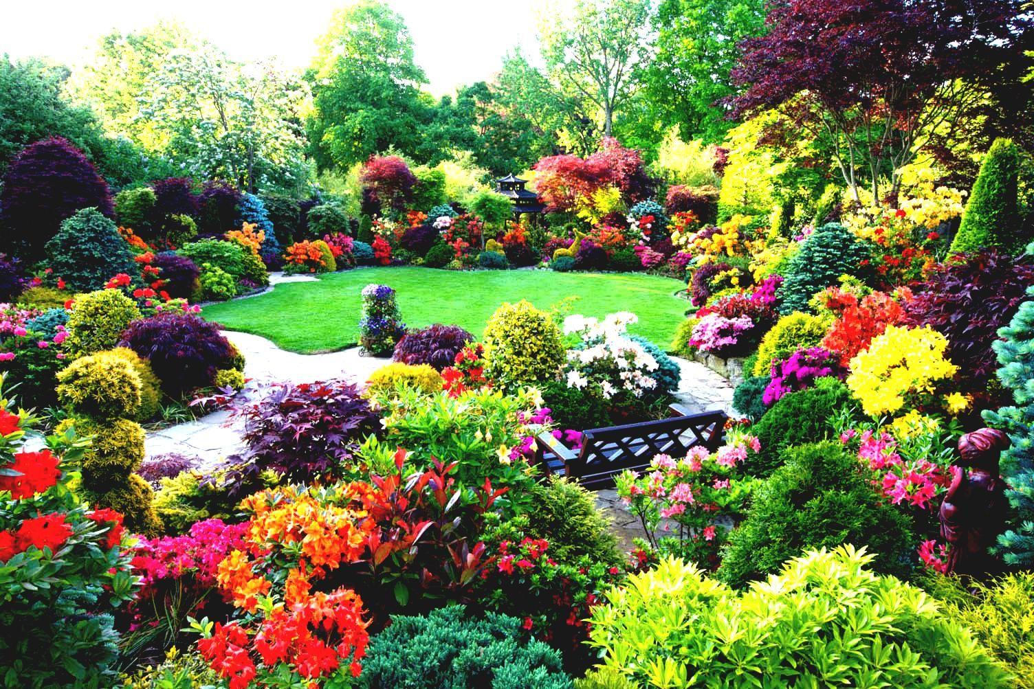 Beautiful home flower gardens wallpaper desktop wallpapers