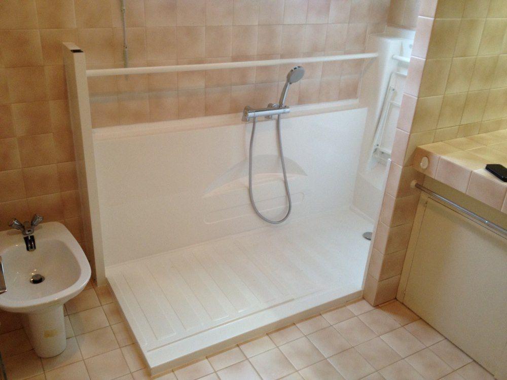 Douche senior Access initiale    wwwseniorbains douche - antiderapant salle de bain