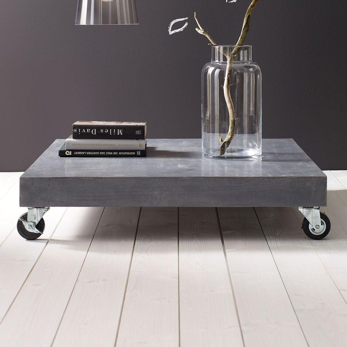 Couchtisch Couchtische Tische Möbel Living Selbermachen Beton Couchtisch Diy Beton Projekte