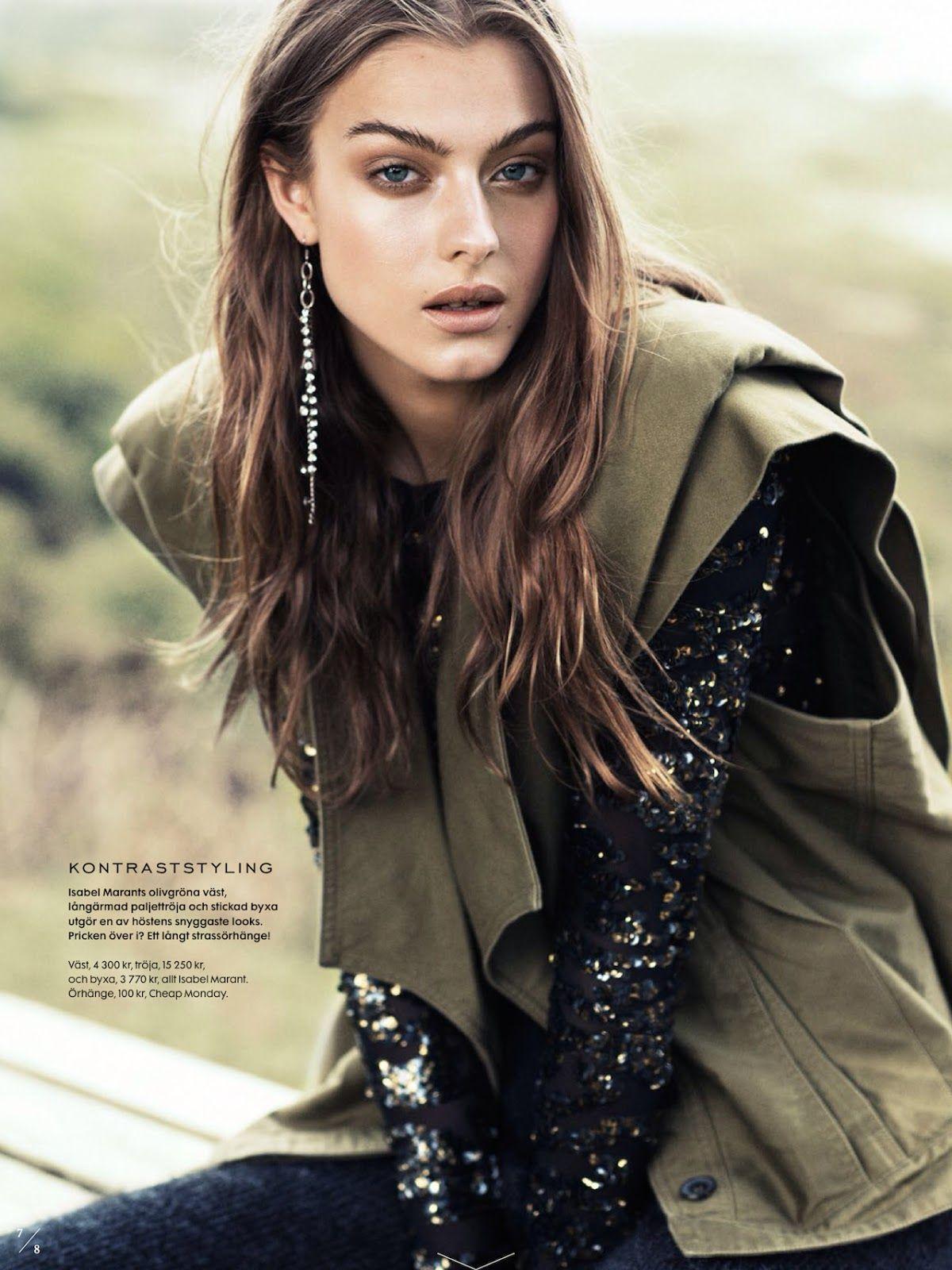 kamouflerad: lone praesto by honer akrawi for elle sweden september 2014 | visual optimism; fashion editorials, shows, campaigns & more!