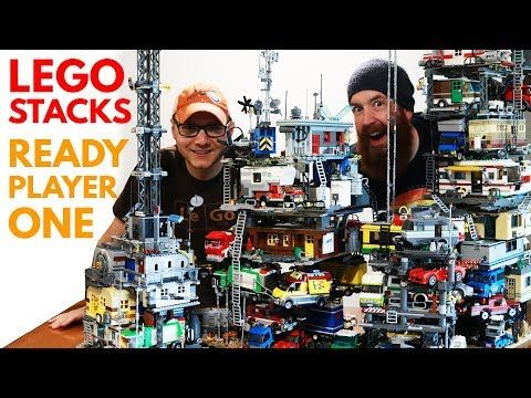 We Built Lego Stacks From Ready Player One Youtube Player One Ready Player One Players