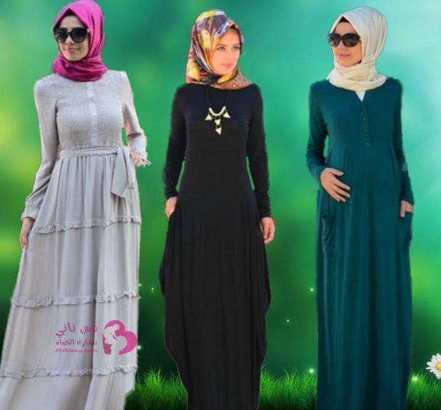 أفخم تشكيلة فساتين محجبات تركية للخروج مس ناني نتشارك الحياة Dresses Dresses With Sleeves Long Sleeve Dress