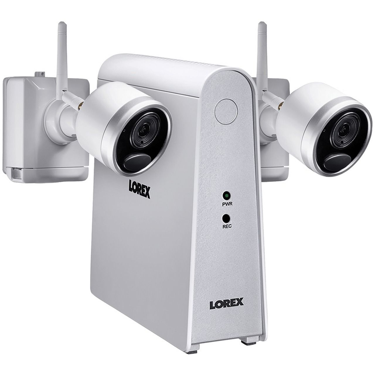 Lorex 1080p Full Hd Wirefree Security System With 2