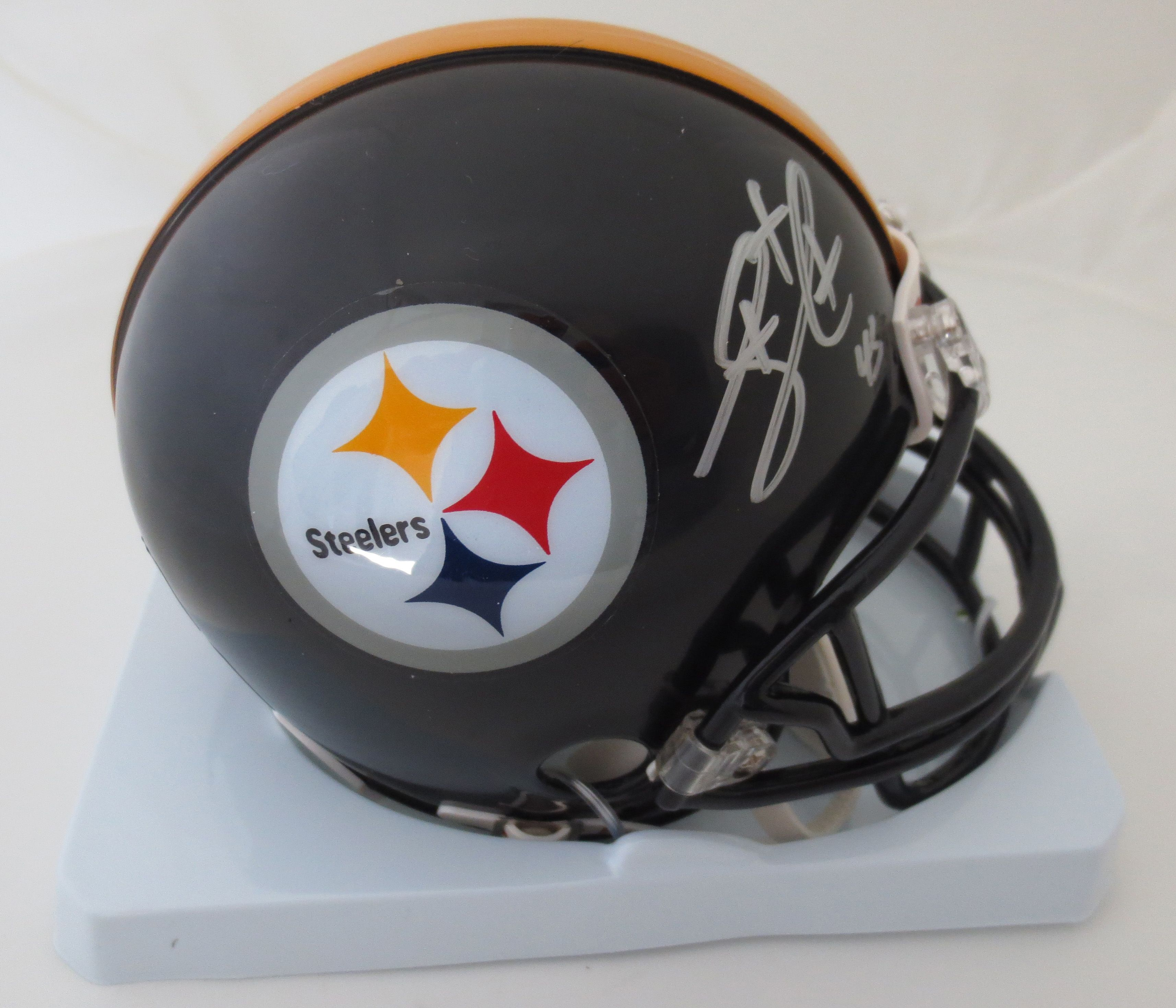 pretty nice 080bd 7c313 Pin by Matt Powers on Sports Autographs | Troy polamalu ...