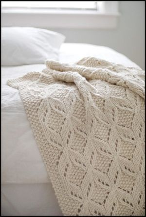 Knitted Blanket Ask For In Sea Blue Hope Chest Pinterest