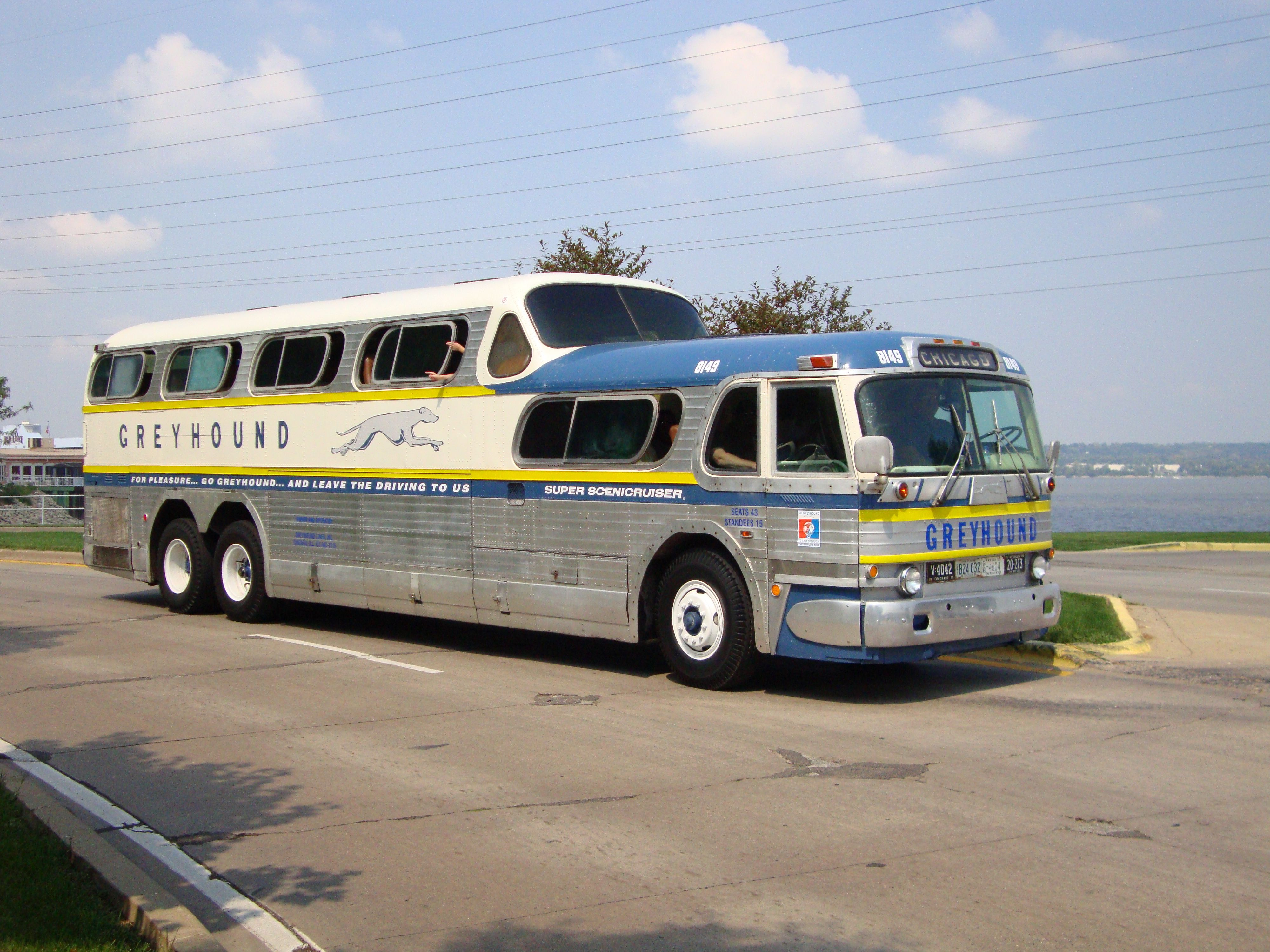 Scenicruiser Rally Scheduled With Images Greyhound Bus Bus