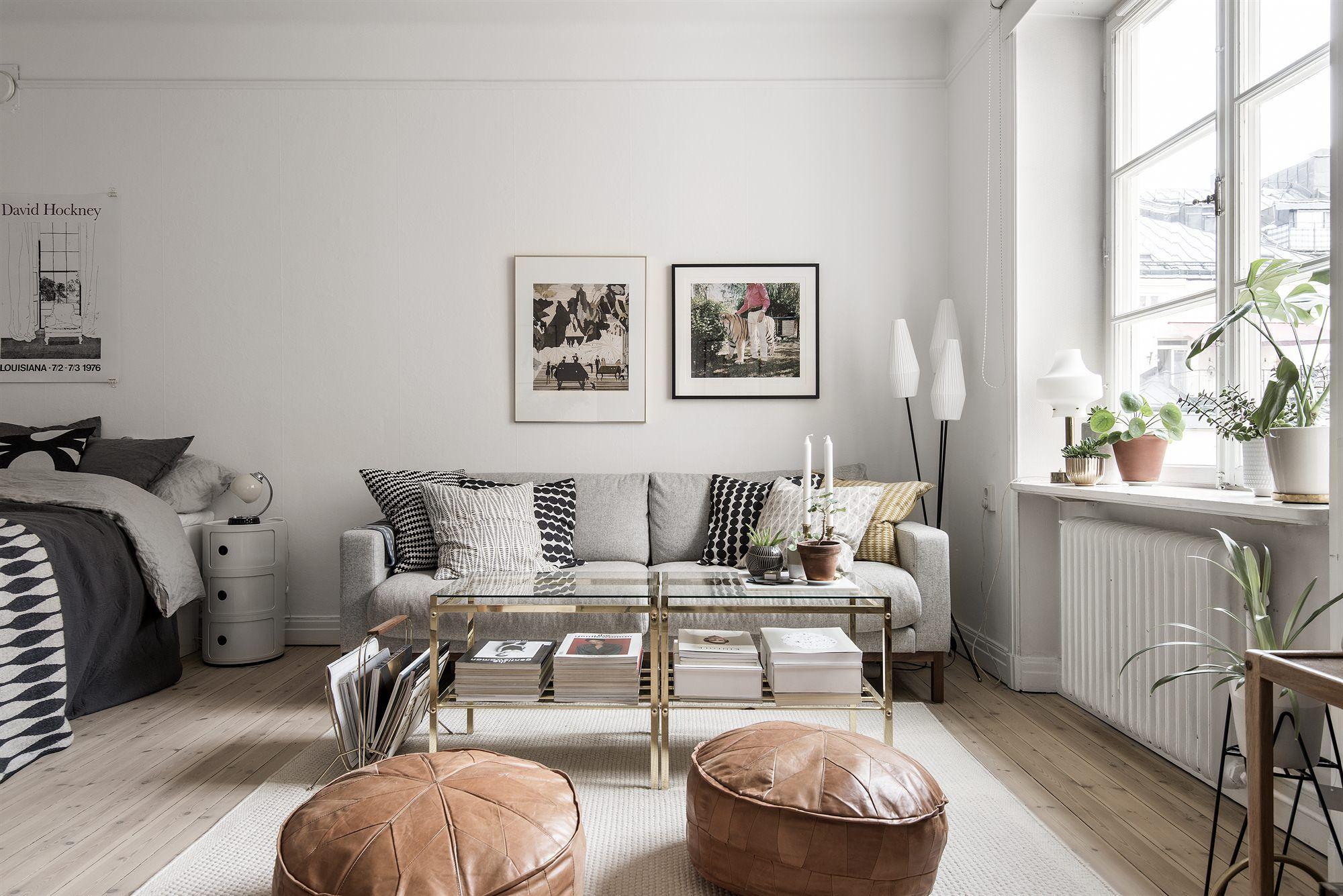 Beautiful Studio Apartment In Neutral Earthy Shades