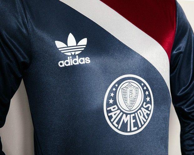 d7c94985f8 Adidas lança camisas retrô do Palmeiras inspiradas nos anos 80 ...