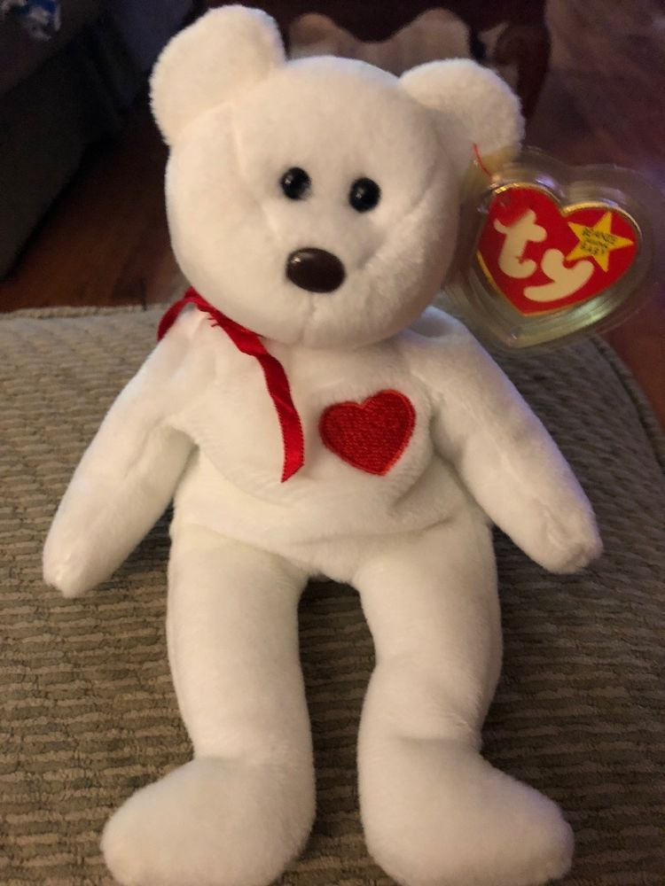 ae526af7c60 VALENTINO 1993 1994 Ty Beanie Baby with errors PVC And Tag With Protector   Ty  beaniebaby  bears  toys  collectibles  onlineshopping  eBay