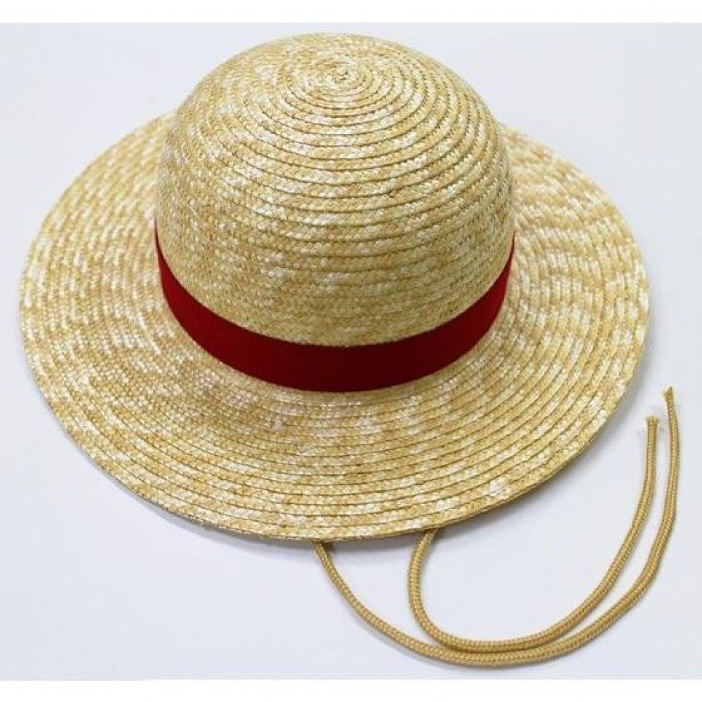 One Piece Handmade Straw Hat Strap Monkey D Luffy Large Bandai Japan Monkey D Luffy Luffy Hats