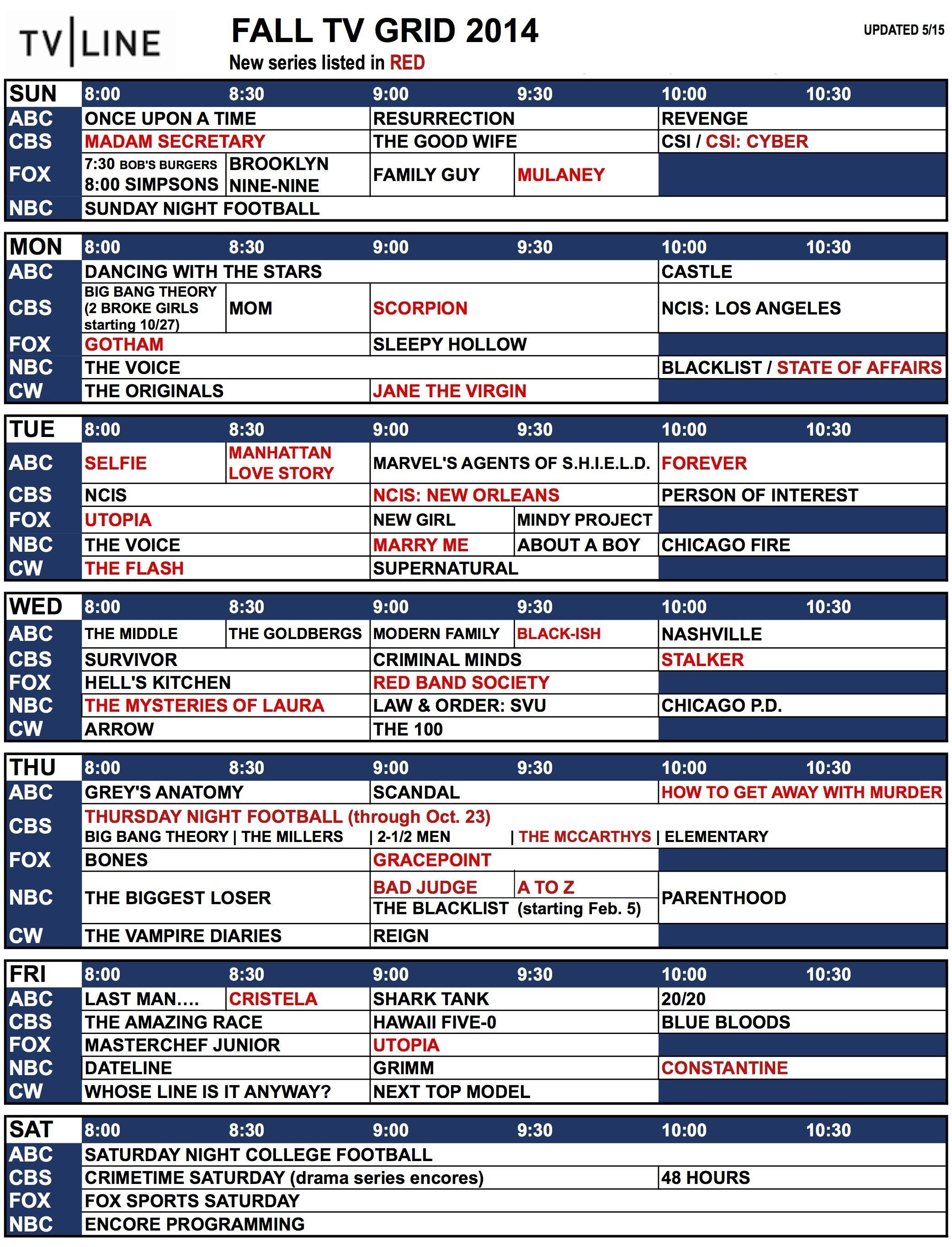 Falltvgrid2014r51 Jpg 2 083 2 728 Pixels Fall Tv Fall Tv Schedule Tv Schedule
