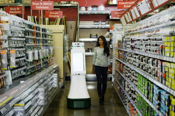 As robots start to take over retail, will there be any jobs left - jobs that are left