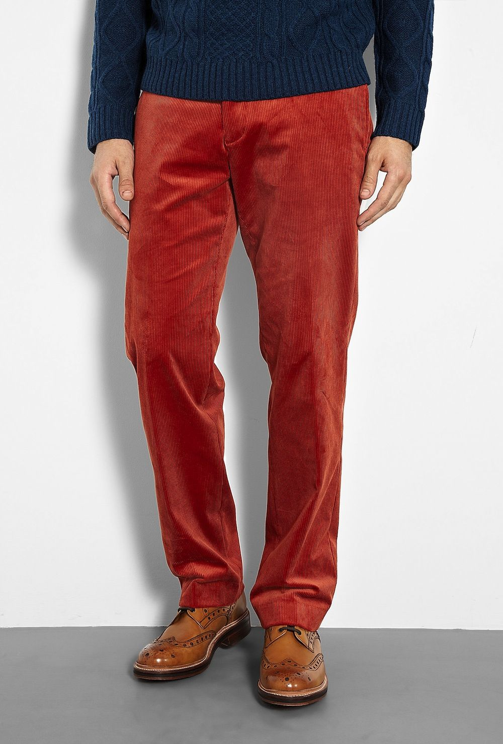 3b27eea40ed2 Polo Ralph Lauren Burnt Orange Corduroy Trousers