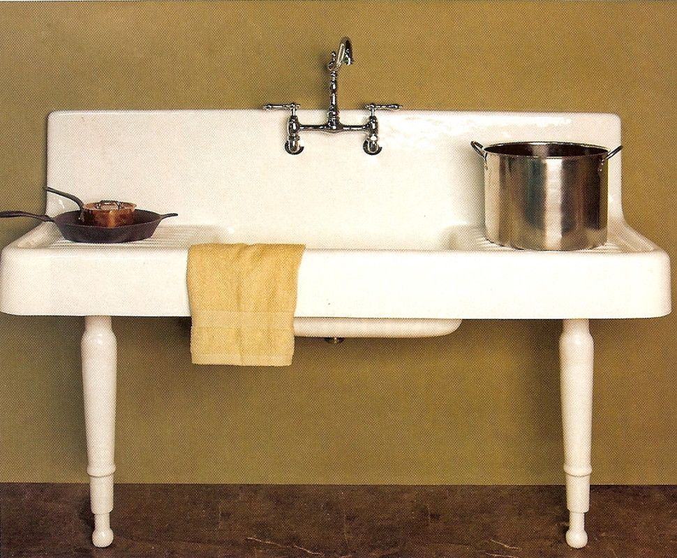 Kitchen:Retro Kitchen Sinks Decor : Vintage Kitchen Sinks Antique ...
