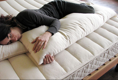 Organic Full Body Pillow If Pregnant Or Side Sleepers Pillows