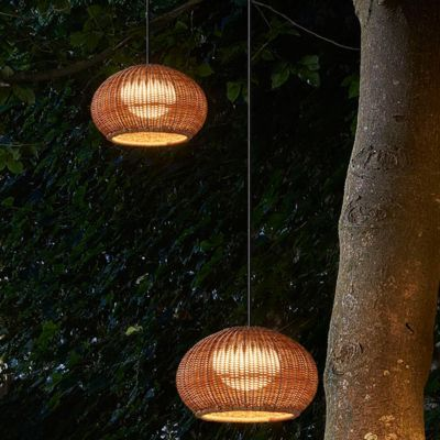 Buy The Garota Outdoor Plug In Pendant Light By Bover And The Best In Modern Lighting At Outdoor Pendant Lighting Plug In Pendant Light Large Pendant Lighting