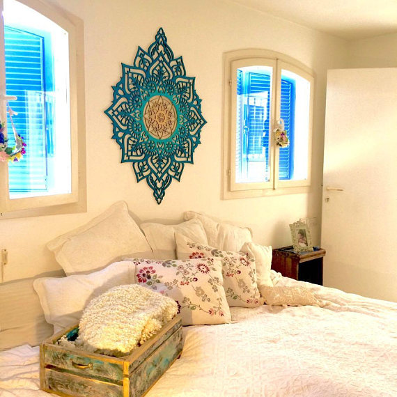 Wood Wall Art, Moroccan Decor, Moroccan Wall Art, Living Room Wall ...