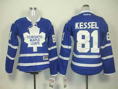 online store 64793 f2ebf women toronto maple leafs 81 phil kessel blue jerseys