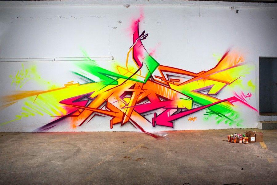 Pack Fluo Bombes De Peinture Graffiti Non Belton Molotow Premium X