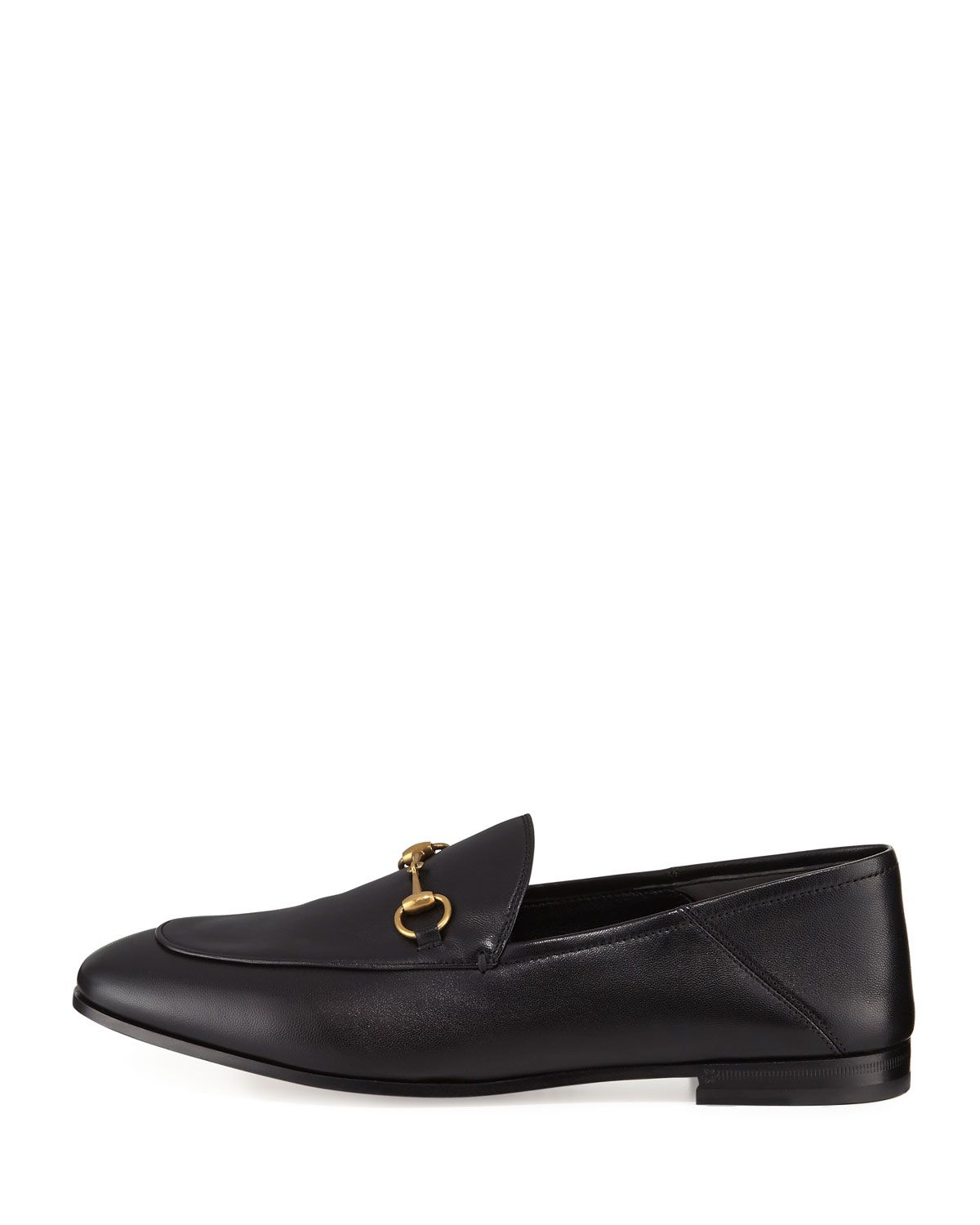 68a62490256 Gucci Brixton Leather Horsebit Loafer