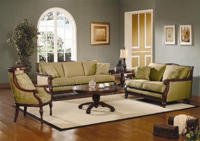 Green Sofa Set. Grünes SofaWohnzimmereinrichtungWohnzimmermöbelSitzgruppe Wandfarbe FarbtöneMöbeldesign