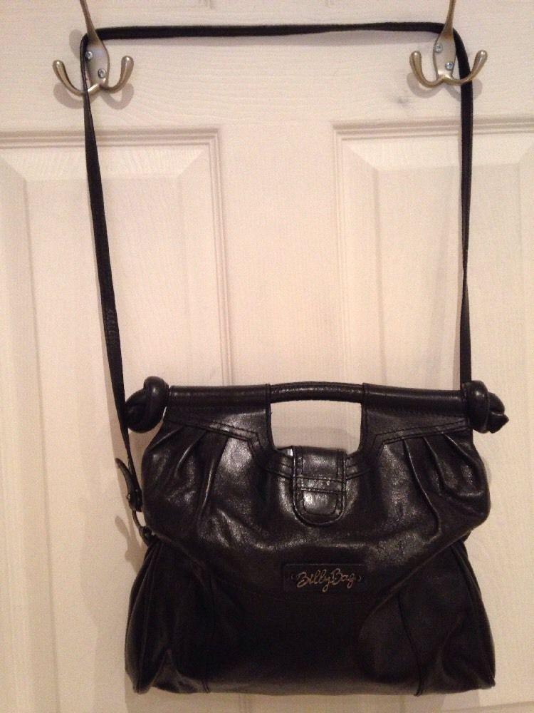 Billy Bag Handbag Shoulder Tote Hobo Slouchy Evening 100 Leather Ebay