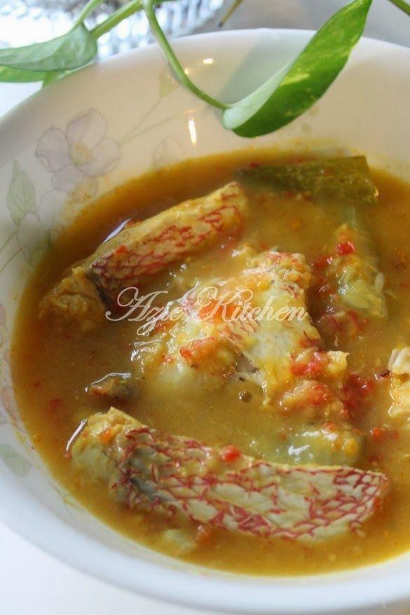 Azie Kitchen Ikan Merah Masak Tempoyak Perak Resep Masakan Malaysia Resep Makanan Resep Seafood