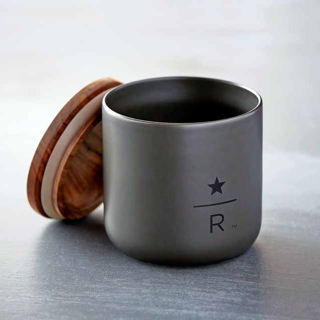 Starbucks Reserve Ceramic Coffee Canister 8 Oz