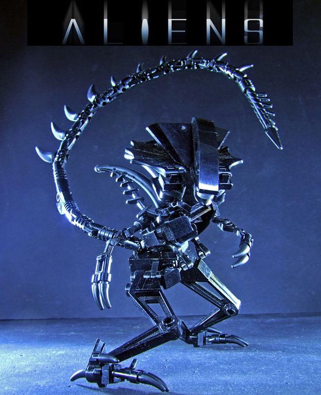 Alien Figurk In 2018 Hungarian Creativity Pinterest Lego