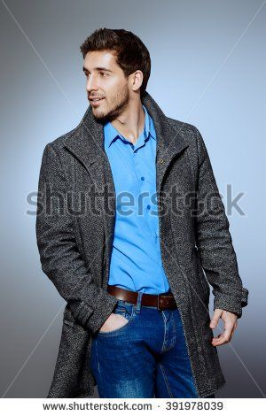 839a956a2991 Man Coat Stock Photos, Royalty-Free Images & Vectors - Shutterstock ...