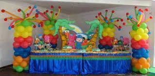 Resultado de imagen para decoracion de fiestas infantiles con globos