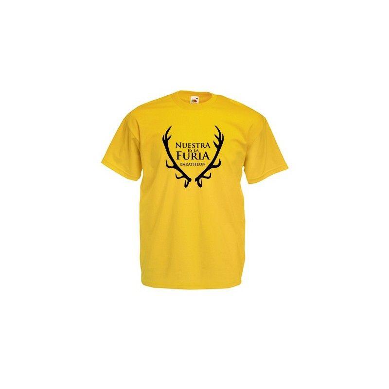 Camiseta de la casa Baratheon