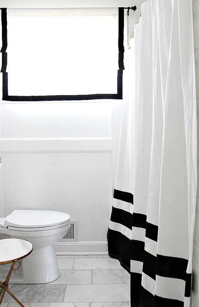 Bathroom Shower Curtain Black Shower Curtains Black Bathroom White Shower