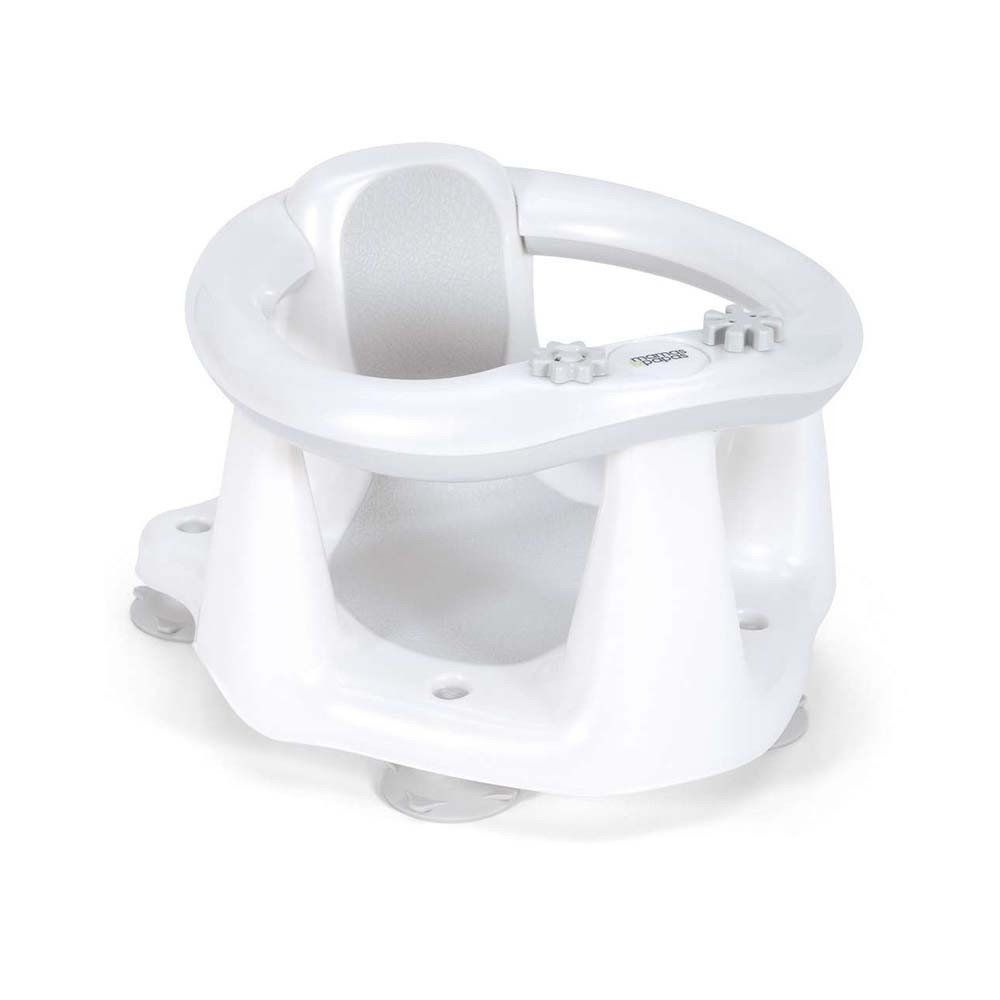 Mamas & Papas Bath Seat Oval - White/Grey | Bath seats, Baby safe ...
