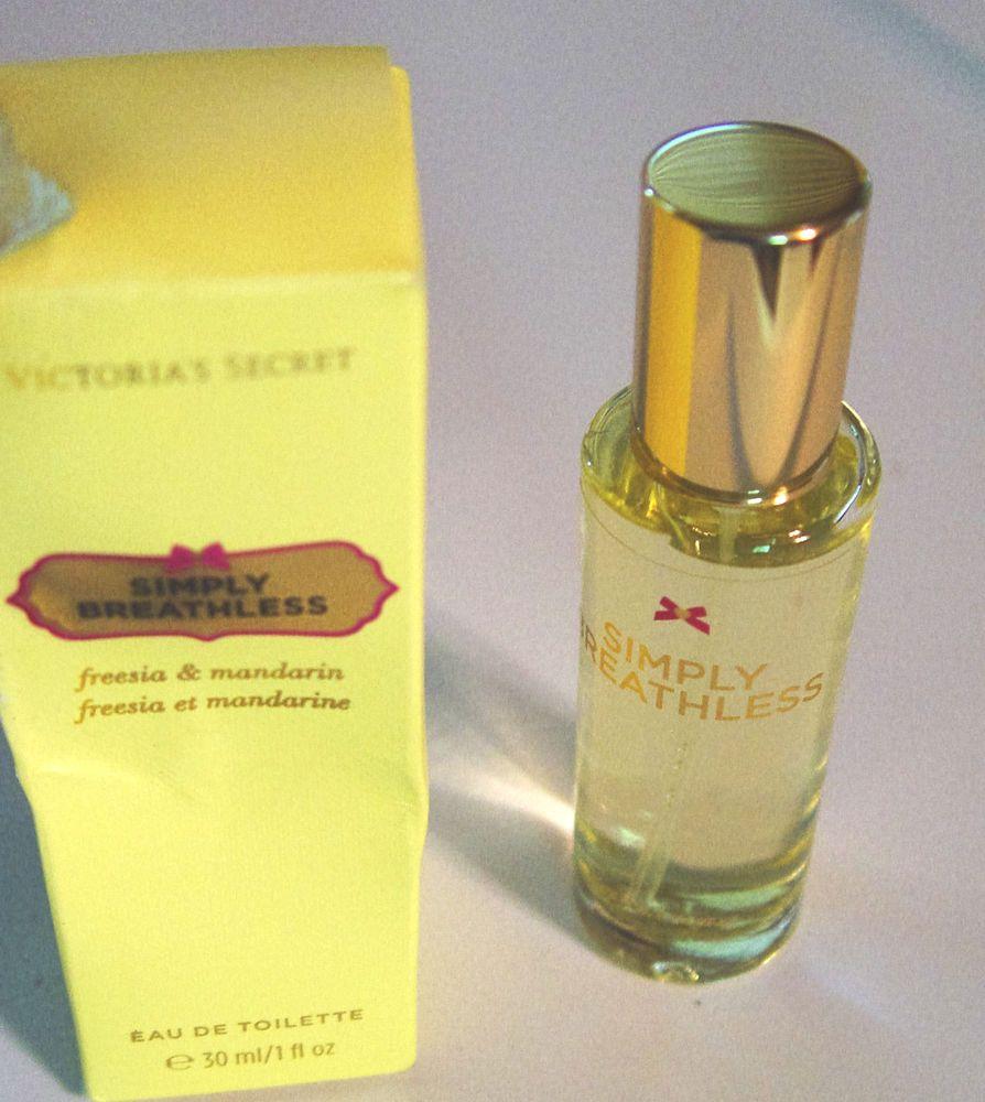 VICTORIA'S SECRET-SIMPLY BREATHLESS-EAU DE TOILETTE SPRAY 1 FL OZ. #VictoriasSecret