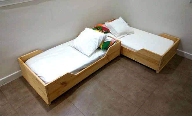 CAMA MONTESSORI | habitacionesIzaro estilo nórdico | Pinterest ...