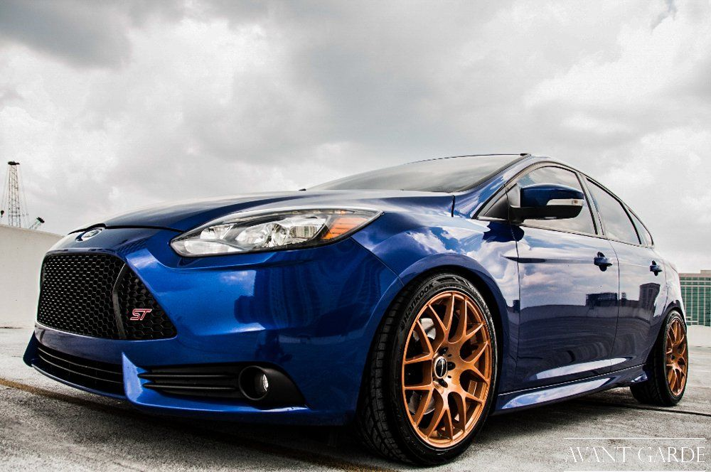 Avant Garde 18x8 5 M310 Wheels For 2013 Ford Focus St Ford Focus St Ford Focus Volkswagen Polo Gti