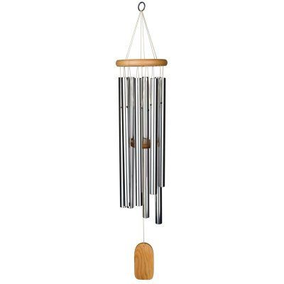 WOODSTOCK ZENERGY CHIME SOLO CHIME LARGE SILVER RELAXATION MEDITATION