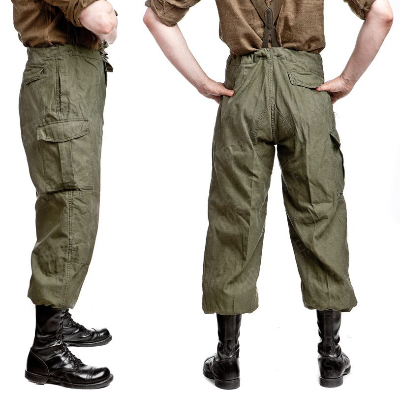 Belgian M64 combat trousers, surplus